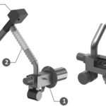 Bioflux Pelletbrenner und Forderschnecke Aufbau